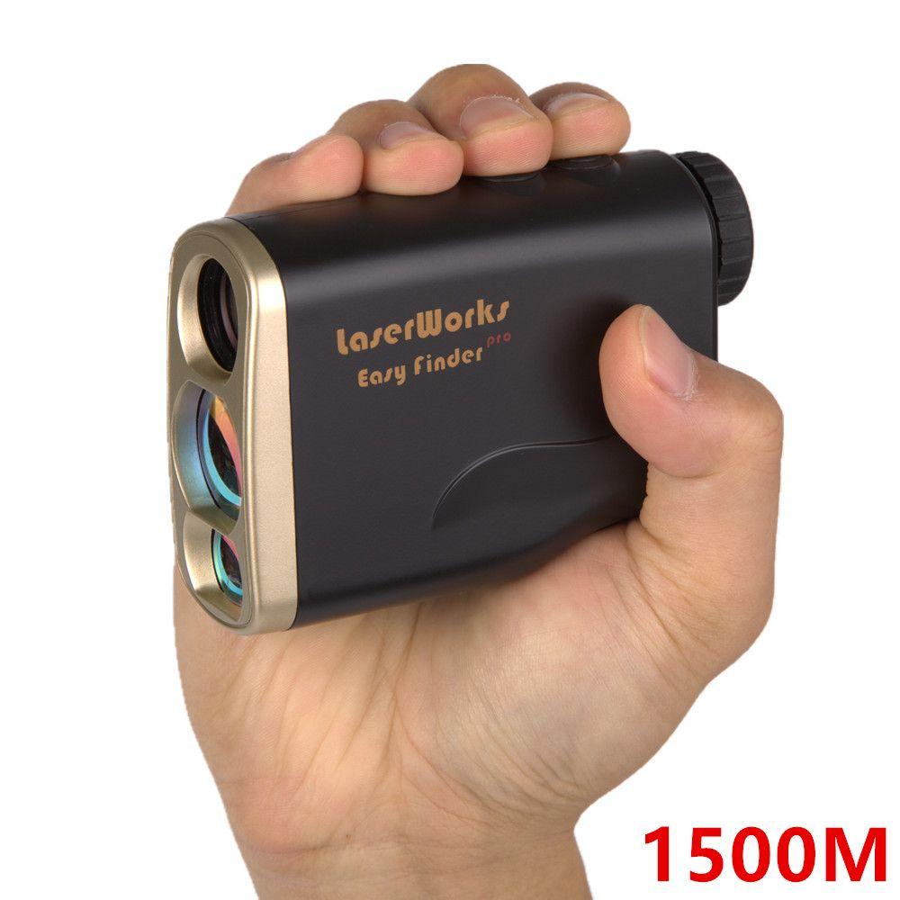 Laser Rangefinder 1500M Digital 1500 M Distance Meter Monocular Telescope trena hunting golf laser range finder tape measure