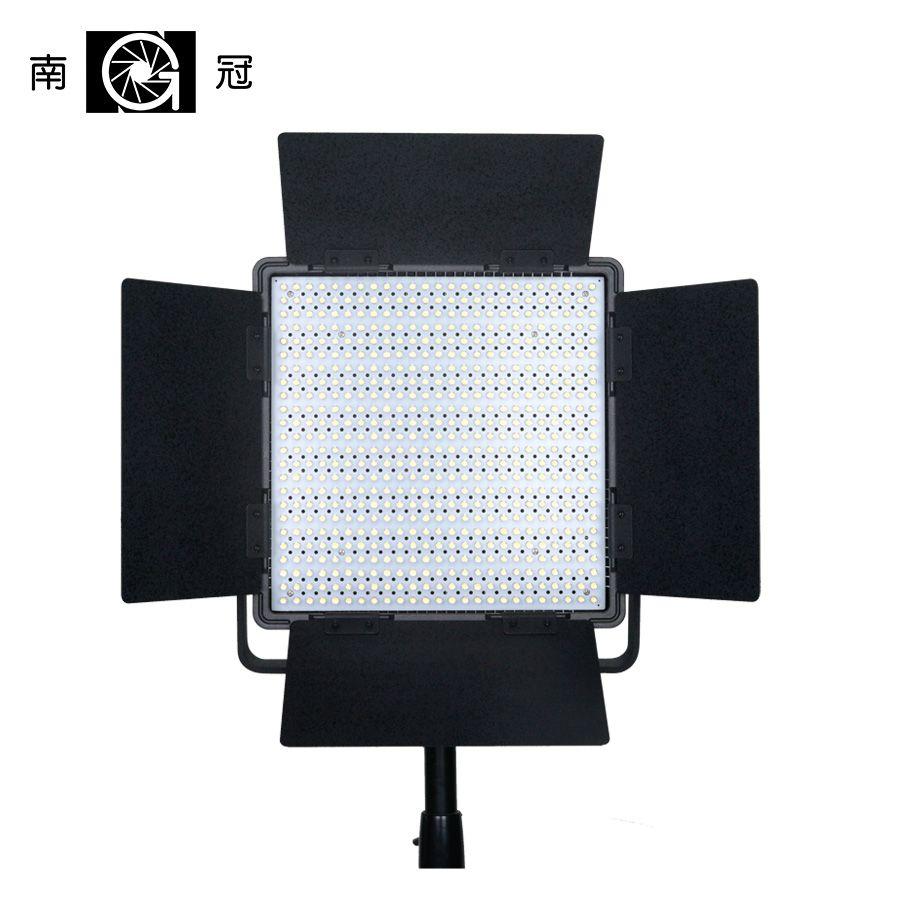 Nanguang CN-600SA 2 Filter 600 stücke Led Kamera Studio Video Licht Storm Led Füllen Licht Daynight Ringförmige Lampe Mit Taschen