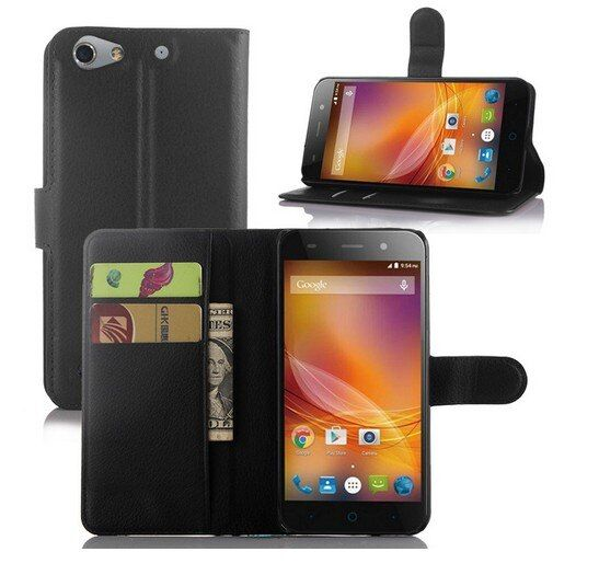 JFC Premium PU Leather Wallet leather Card Holders Case for ZTE Blade L4 / Blade L4 Pro T610 ZTE Blade A475