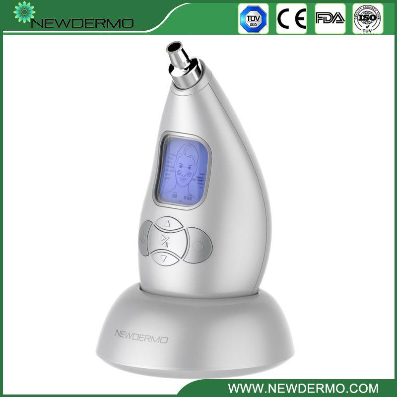 NEWDERMO Multi-Function Diamond Microdermabrasion Instrument Skin Oxygen Facial Massage Peeling