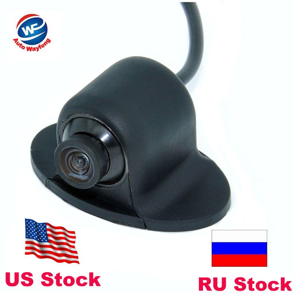 Mini caméra CCD HD Vision nocturne 360 degrés caméra de recul de voiture caméra frontale vue de face caméra de recul latérale