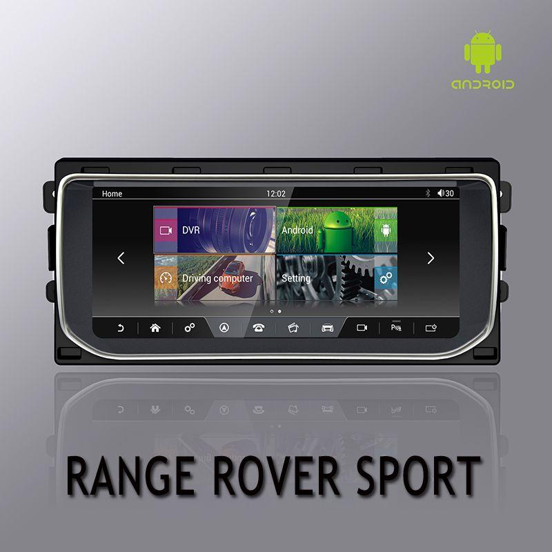 NVTECH Multimedia Navigation GPS Für Ranger Rover Sport Bluetooth Android 7.1 Radio Dashboard DVD Player 10,25