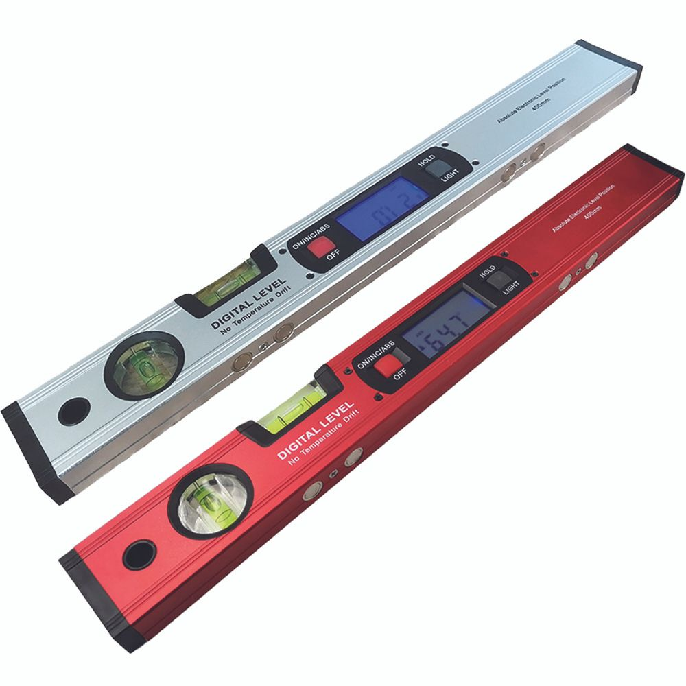 Digital Protractor Angle Finder Inclinometer electronic Level 360 degree with/without Magnets Level angle slope test Ruler 400mm