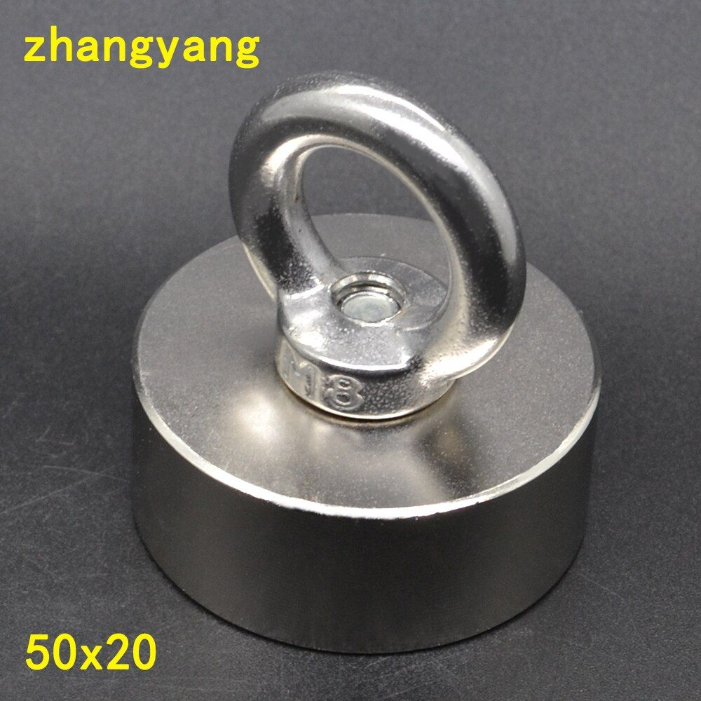 Super Powerful Strong Rare Earth Disc hold magnet Neodymium N42 Magnets D50x20mm 50*20mm deap sea salvage equipments