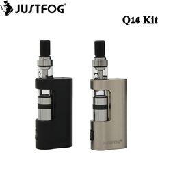 Original Justfog Q14 Compact Kit 900mah Battery Justfog Q14 Tank Anti-leakage Starshield System Electronic Cigarette Vape