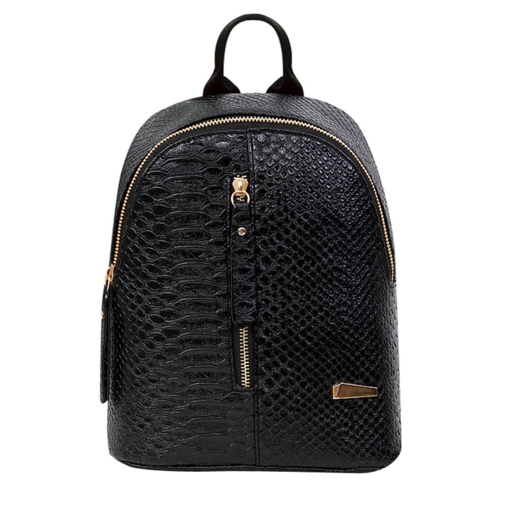 De Cuero de las mujeres Mochilas mochilas escolares Mochilas Mochila escolar Mochila de Viaje bolsos de Hombro mujer Bolso de Cadena Caliente feminina 2017