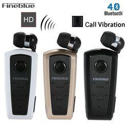 Fineblue F910 Wireless Bluetooth Earphone Wear Clip Stereo Sound In-ear Sport Headset for Driving Sport Earphones