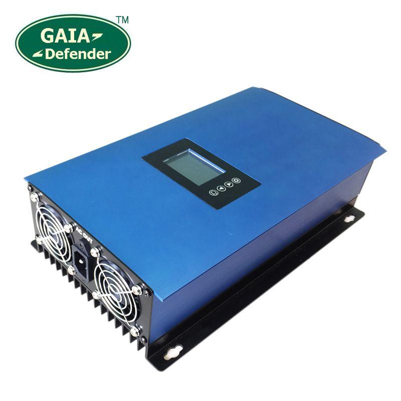2000 W Solar Power Grid Tie Inverter mit Limiter für solar panels batterie entladung hause auf grid verbunden 2KW