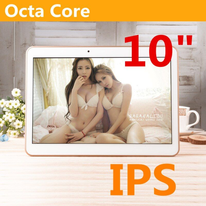 10 zoll 8 kern Octa Cores MTK6592 1280X800 ram 4 GB ROM 64 GB 5.0MP 3G anruf dual-sim-karte Tablet PC Tabletten PCS Android5.1
