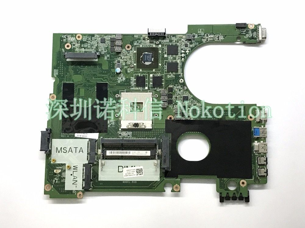 DA0R09MB6H1 REV H CN-072P0M 72P0M For inspiron 17R 7720 laptop motherboard HD4000 Nvidia GT650M DDR3