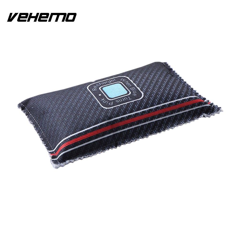 Vehemo Car Dehumidifier car air dehumidifier car air dryer bag Non-Toxic Silica Gel Desiccant Recycle Universal