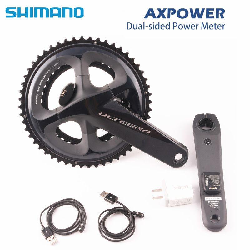 SHIMANO ULTEGRA R8000 rennrad fahrrad Kurbel mit SIGEYI AX-POWER METER Kurbel 170mm 172,5mm Kurbel 52 -36 T 50-34 T 53-39 t