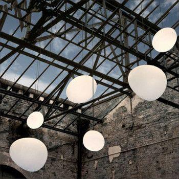 Nórdica colgante luces colgante globo blanco lámpara de vidrio lámpara sombra para habitación Luz de cocina accesorio luminaria lámpara colgante