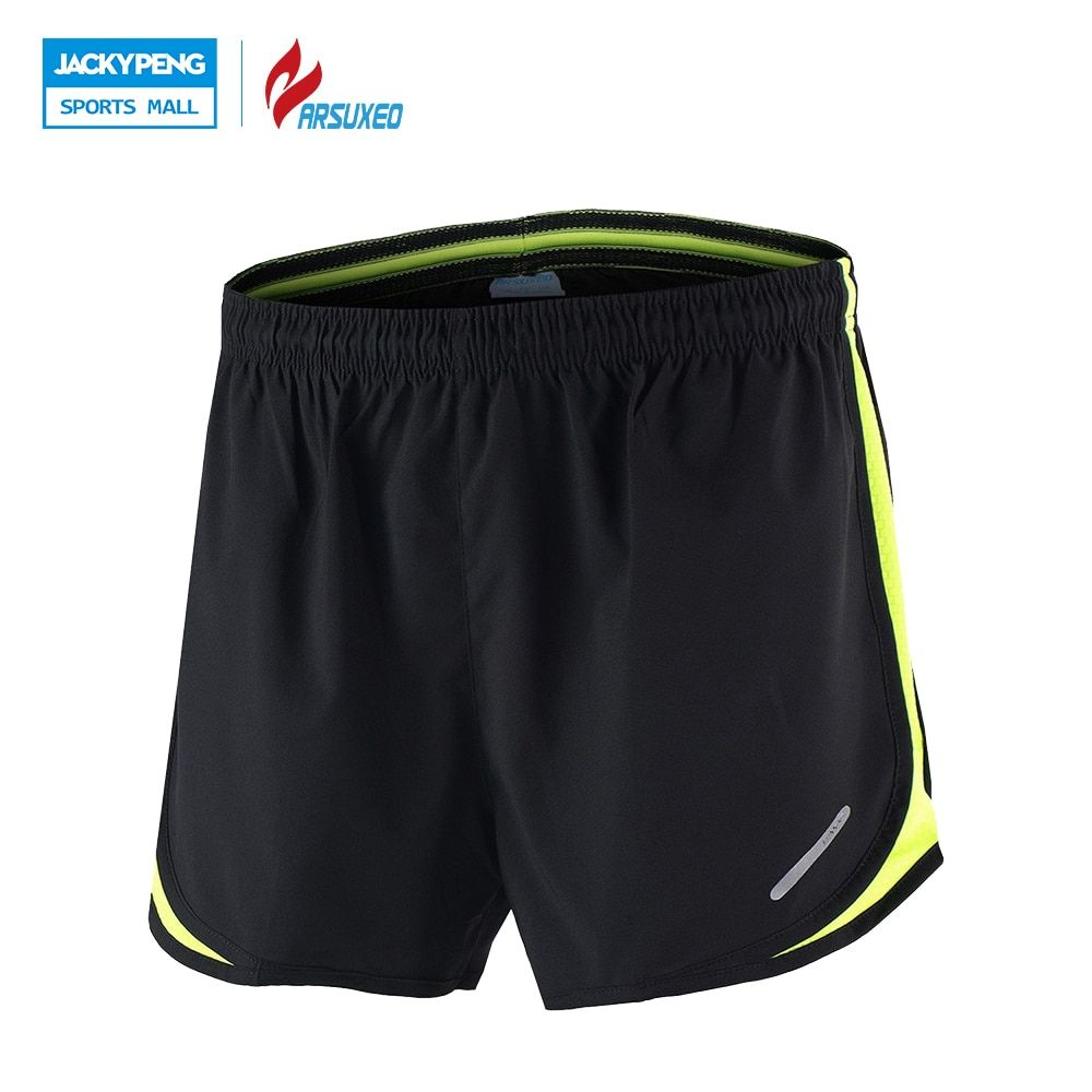 ARSUXEO Mens Sports Running Shorts Training Jogging Athletic Quick Dry Lycra Athletic Shorts Men Short Running shorts Men