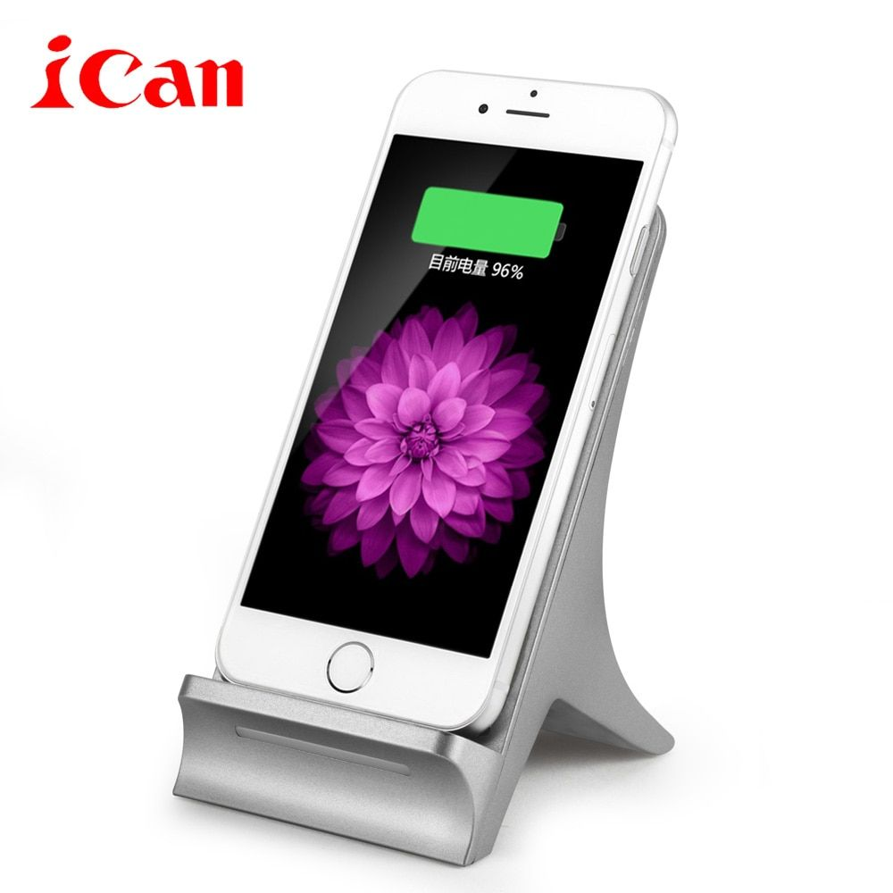 Ican 10W Fast Charge Qi Wireless Charger Pad ONLY For Samsung Galaxy S6 edge plus/Note5/S7/S7 edge For ihpone 8 / X