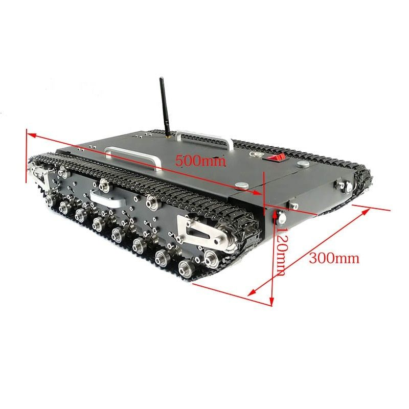 2018 30Kg Load WT-500S Smart RC Robotic Tracked Tank RC Robot Car Base Chassis
