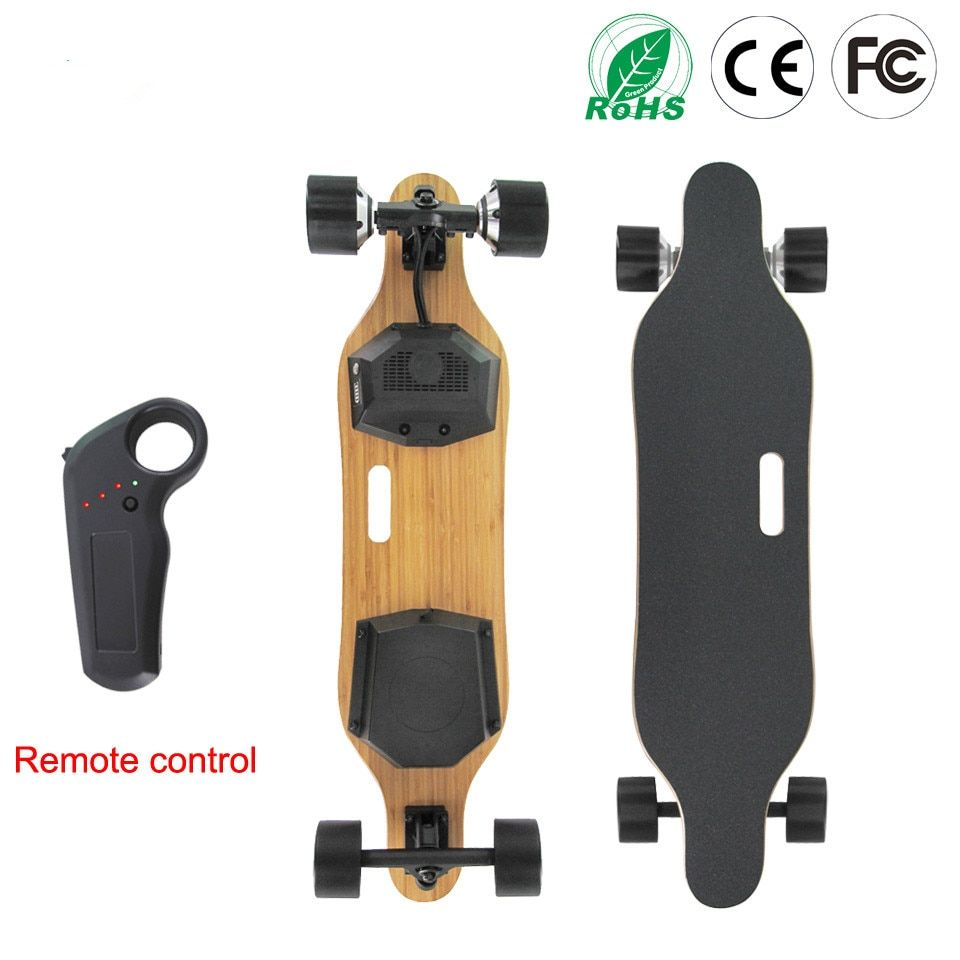 Electric Skateboard Skate Board 7 Layers Canada Maple Longboard 4 Wheels Electric Scooter Hoverboard 83mm Hub Motor