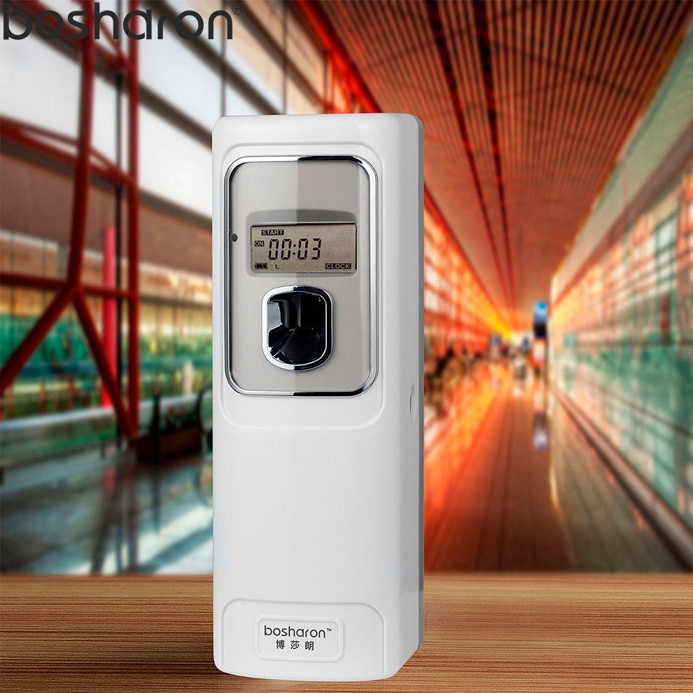 Aerosol Dispenser Toilet Air Freshener Automatic For Homes Hotel Bathroom Perfume Spray Fresheners Machine With LCD Screen