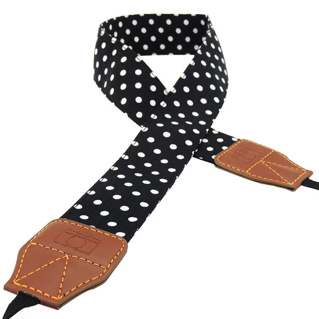 centechia Universal Retro Dots Blue Shoulder Belt Camera Neck Photo Strap For Canon Nikon Sony Pentax Leica Fuji Olympus DSLR