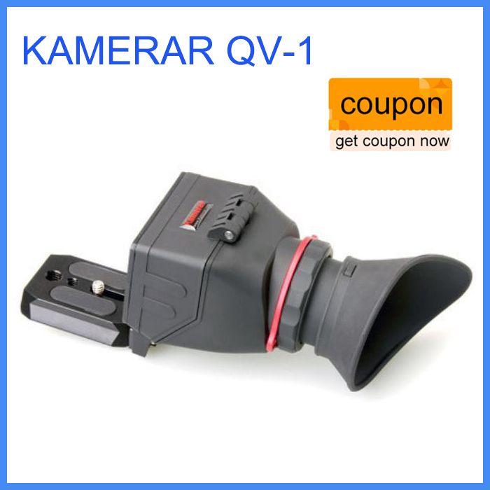 KAMERAR QV-1 LCD Viewfinder For CANON 5D MKIII 6D 7D 60D