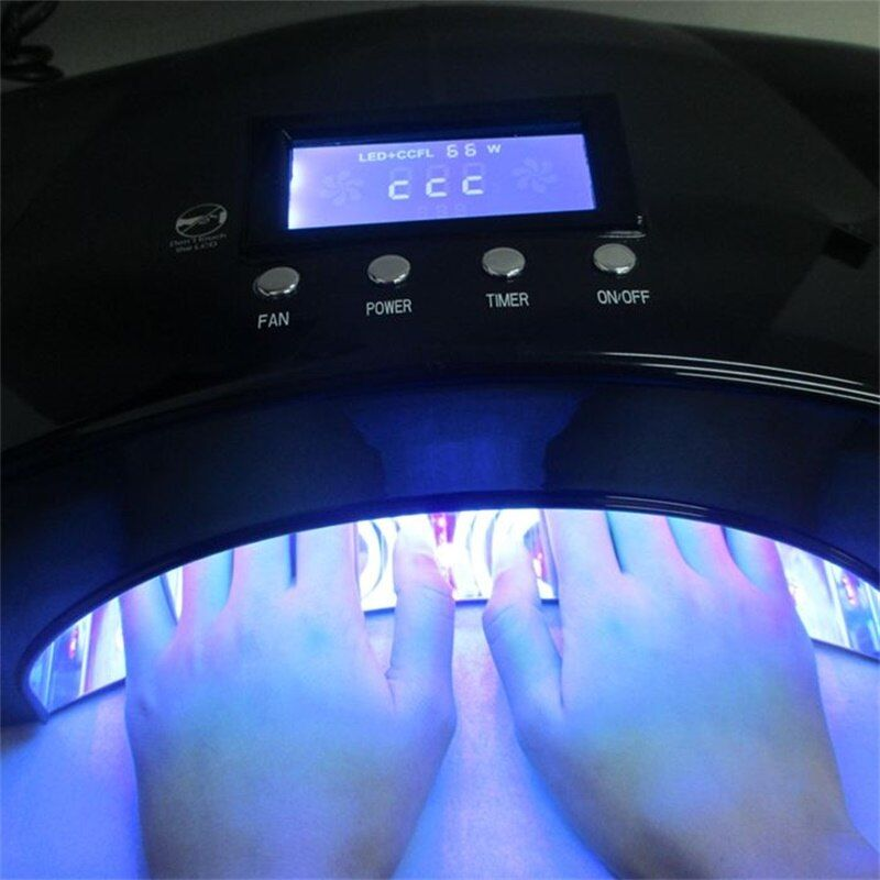 2018Newest Nail Tools SUN UV LED Lamp 66W CCFL Nail Dryer Machine For Curing UV Gel LED Gel Nail Gel Polish Manicure with Sensor