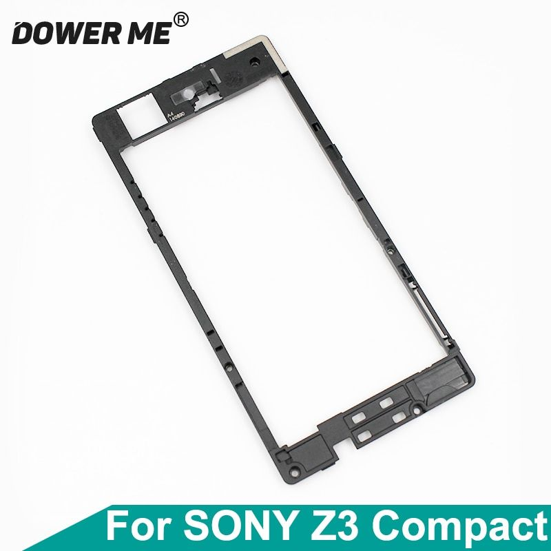 Dower Me For Sony Xperia Z3 Compact Z3mini M55w D5833/03 Z3C Back Middle Frame Speaker Motherboard Holder Rear Plate Antenna