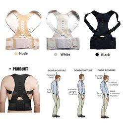 Aptoco магнитотерапия Корректор осанки Брейс плеча Поясничные бандажи ремень для Для мужчин Для женщин Фиксаторы и опоры плечевой ремень поло...