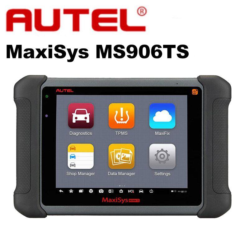 Autel MaxiSys MS906TS Pro Automotive Full System OBD2 Auto Diagnostic Programming Scanner Car TPMS OBDII ECU Coding MS906BT WIFI