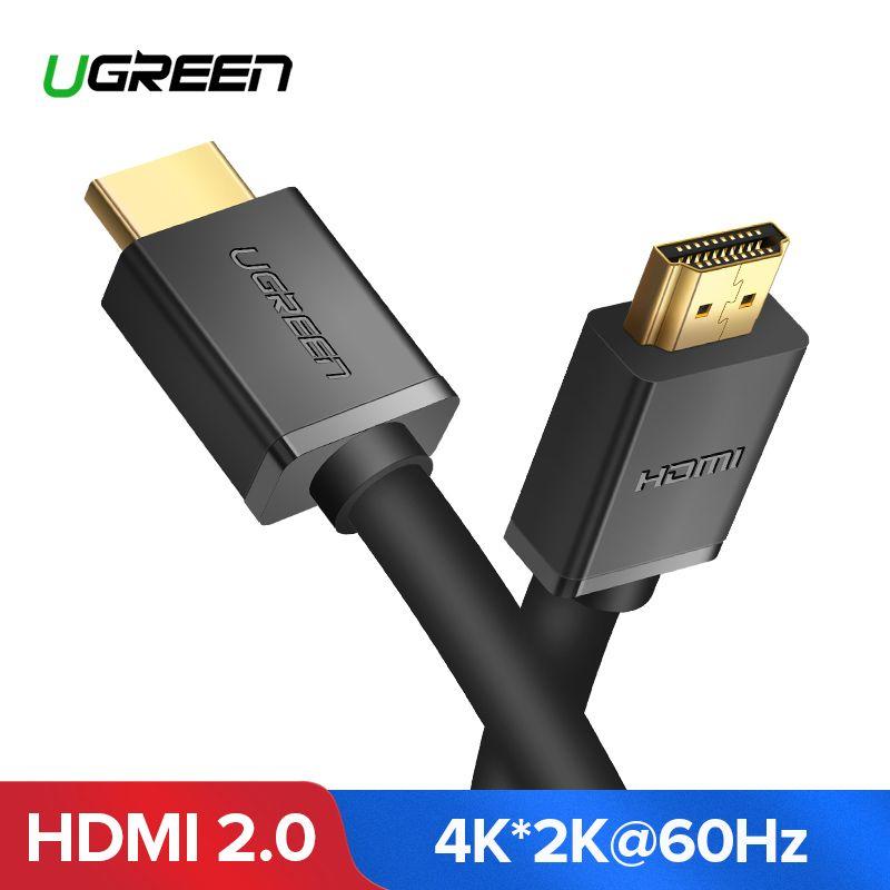 Ugreen HDMI Kabel 4 K HDMI 2,0 Kabel für IPTV LCD HDMI xbox 360 PS3 4 pro Set-top Box nintend Schalter Projektor Kabel HDMI 5 M 10 M