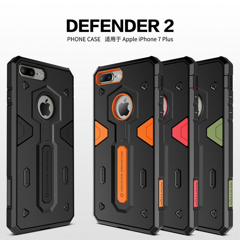 Antichoc Armour Case Pour iphone 7 7 plus 6 6 s plus iphone 7 iphone 8 plus iphone X XR XS Max cas NILLKIN Defender 2 Couverture Arrière