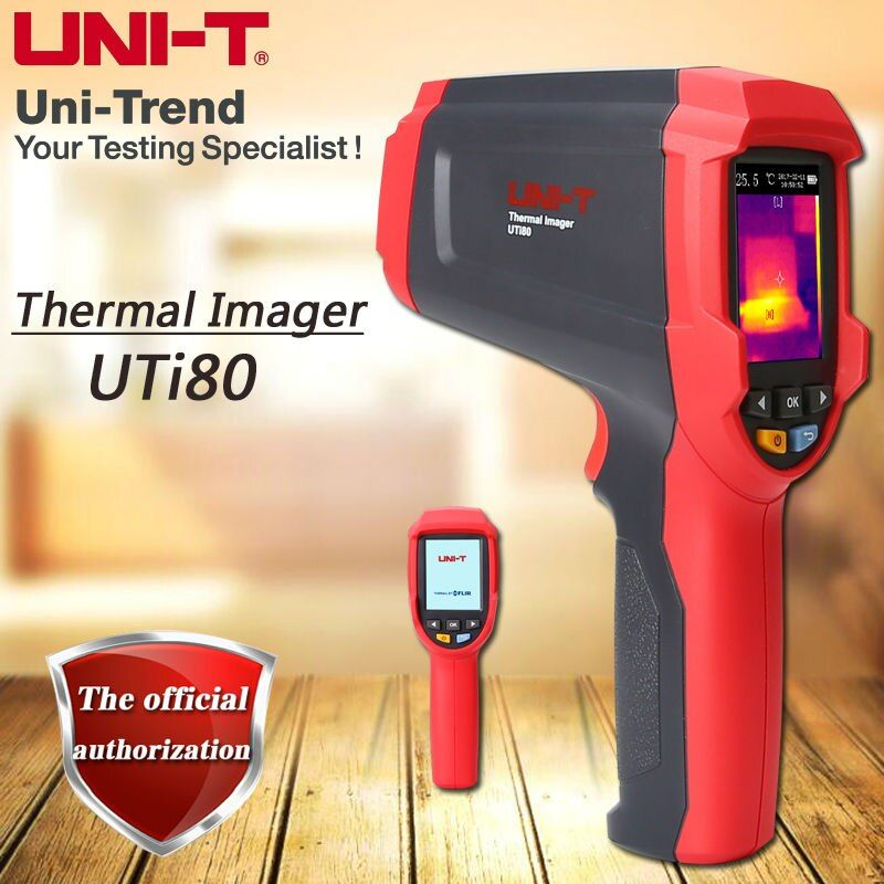 UNI-T UTi80 Infrared Thermal Imaging Thermometer / Dual Laser Point / Range -30C to 400C