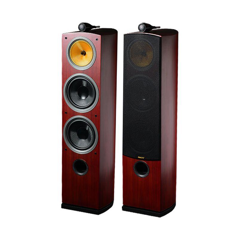 Drei-weg Hallo-fi Holz Lautsprecher 3 Möglichkeiten Stand Hifi Sound Lautsprecher Für Surround Leistungsstarke System Akustische