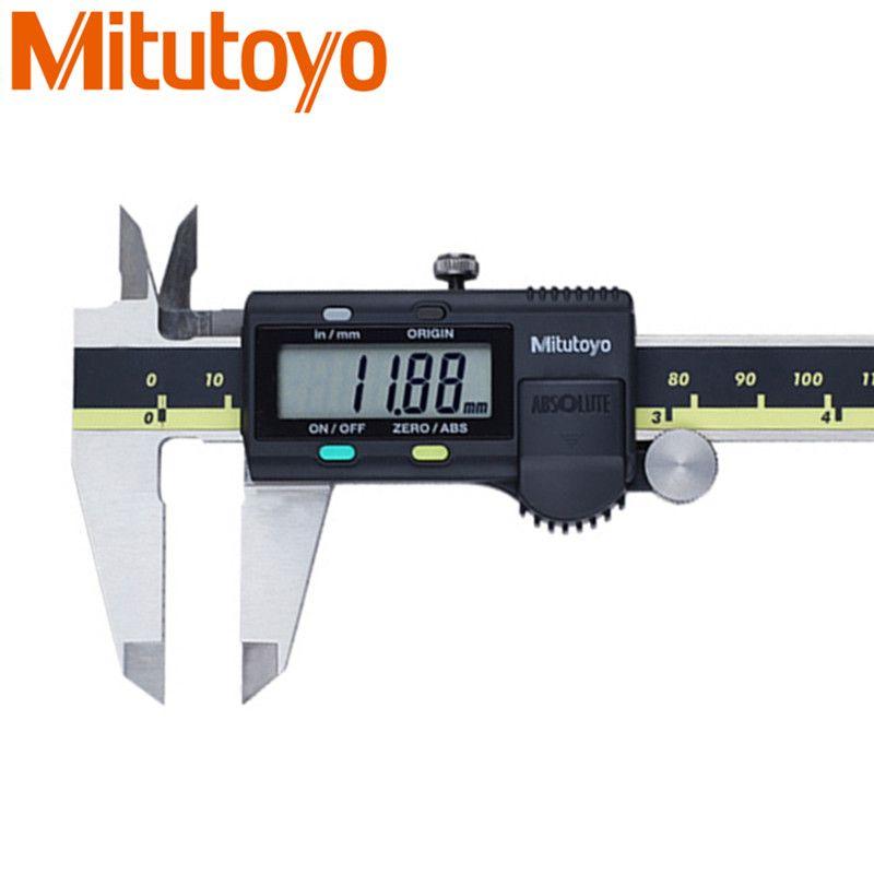 Mitutoyo Digital Caliper 0-150mm/0.01mm Metric/Inch Calibre 500-196-30 LCD Electronic Caliper Paquimetro Gauge Measuring Tools