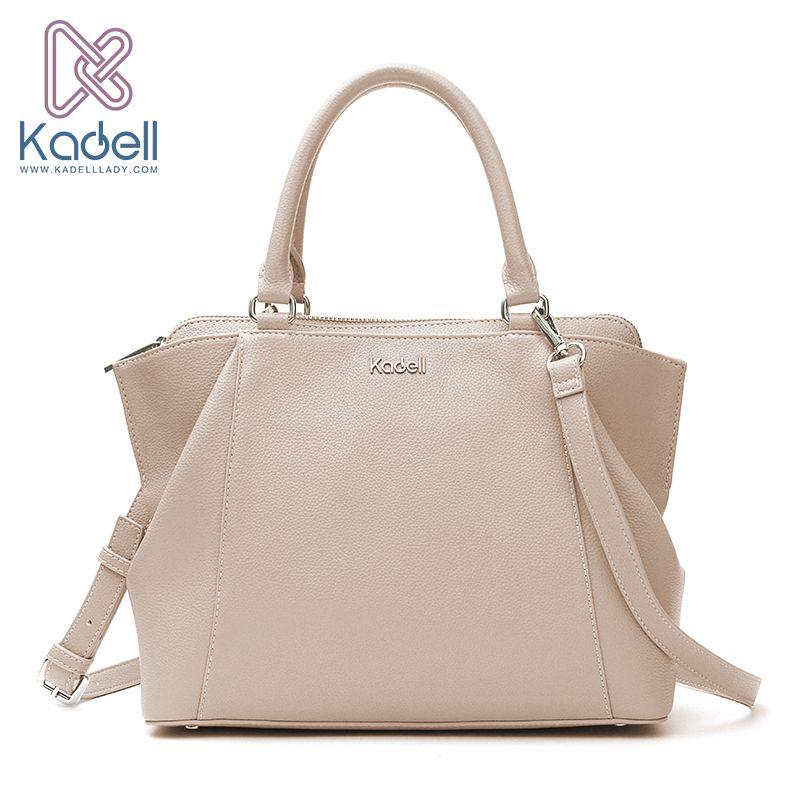 Kadell 2018 New Elegant Lady Business High Range Doctor Bag Designer Handbags High Quality Tote Bag Leather Shoulder Bag