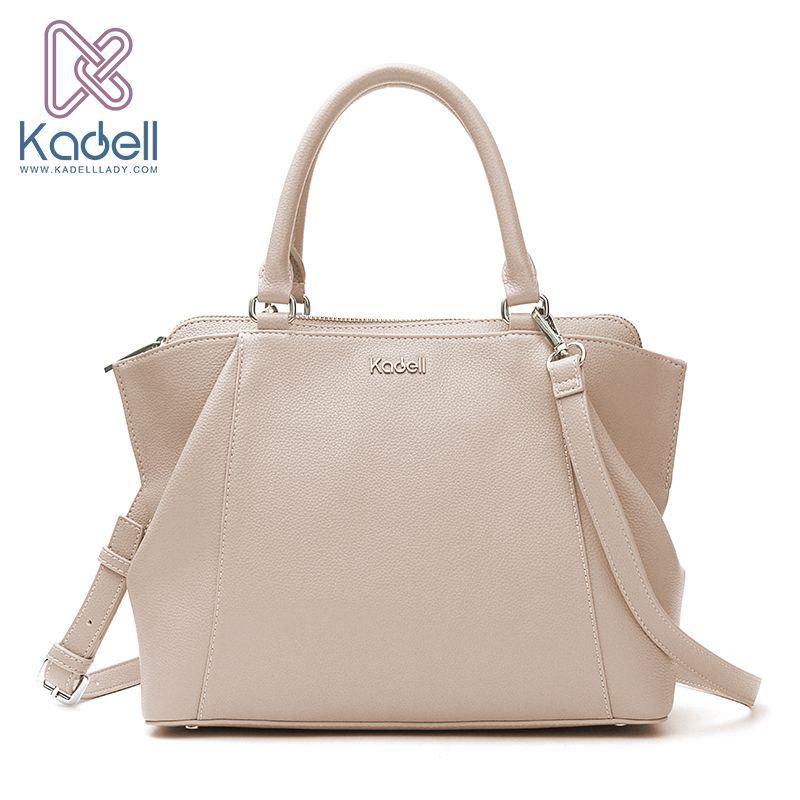 Kadell 2018 New Elegant Lady Business High Range Doctor Bag Designer Handbags High Quality Tote Bag Leather Shoulder Bag