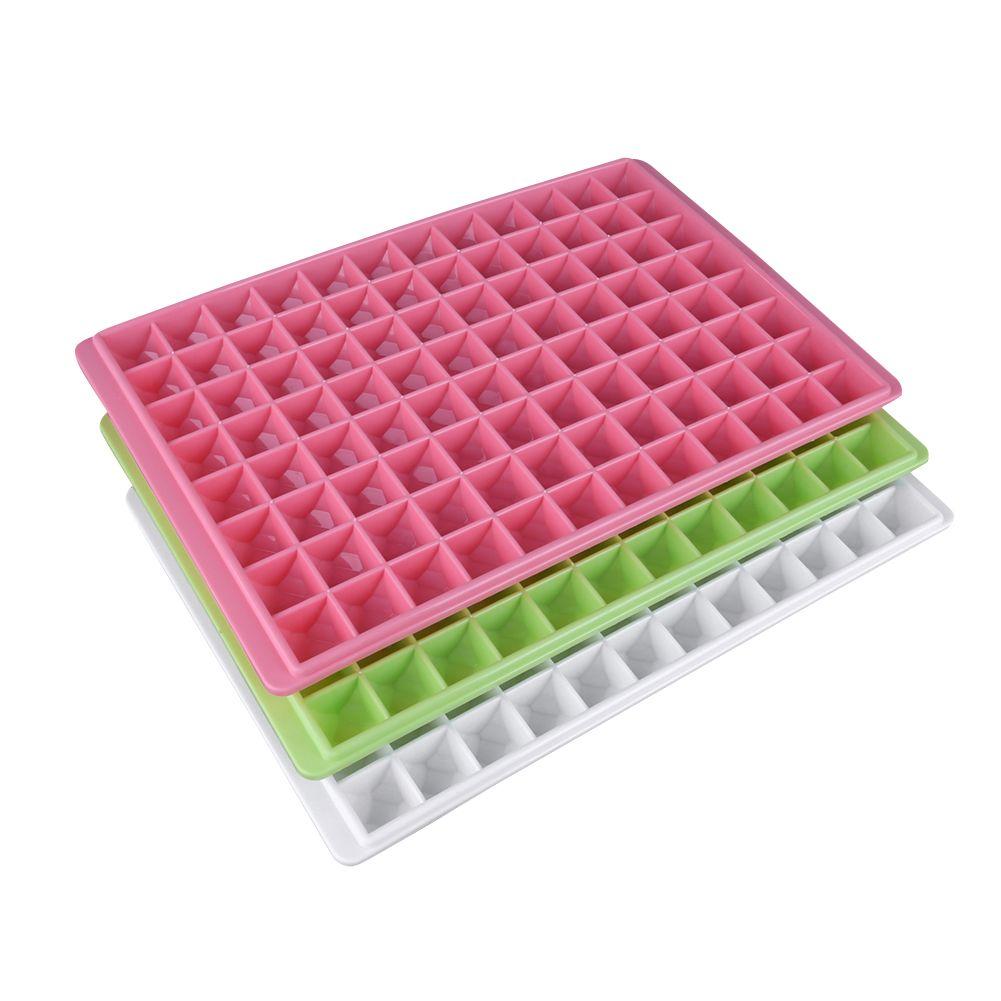 96 сетки DIY творческих небольшие Ice Cube Плесень квадратный Форма силиконовые для льда фрукты Ice Cube чайник Бар Кухня Интимные аксессуары