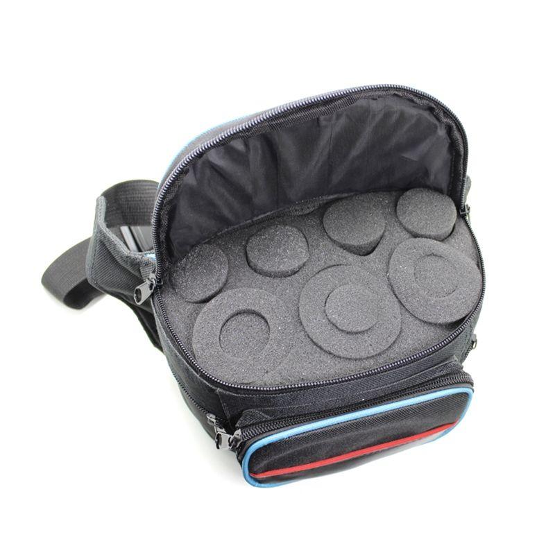 Telescope Eyepiece Carrier Nylon Surface Sponge Inside Bag Portable Carrying Case for Astronomical Telescope Eyepiece
