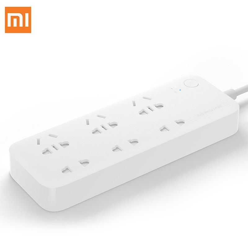 D'origine Xiaomi Smart Power Strip Socket Intelligent 6 Ports WiFi Sans Fil À Distance Plug Power on/off avec Téléphone APP contrôle