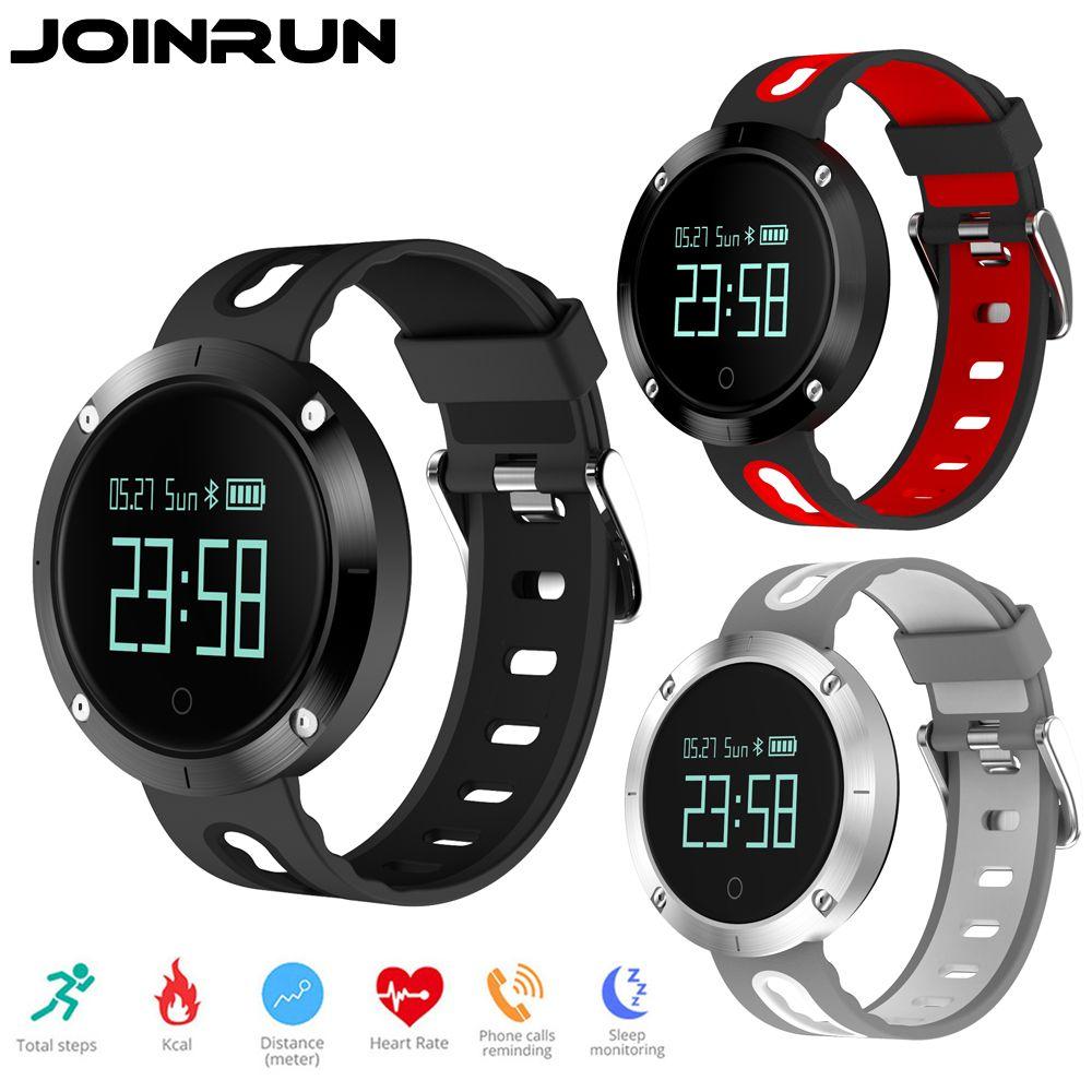 Joinrun DM58 Smart Bracelet Heart Rate Monitor Blood Pressure IP67 waterproof Call reminder Activity Tracker Smart Wristbands