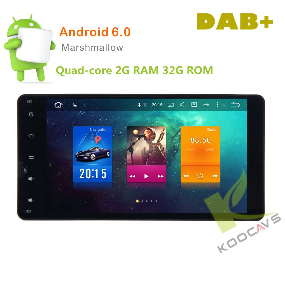 7 zoll 8 Core Android 6.0 Auto GPS-Radio-Player Für mitsubishi outlander lancer-x asx 2014 2015 stereo autoradio audio kopf einheit