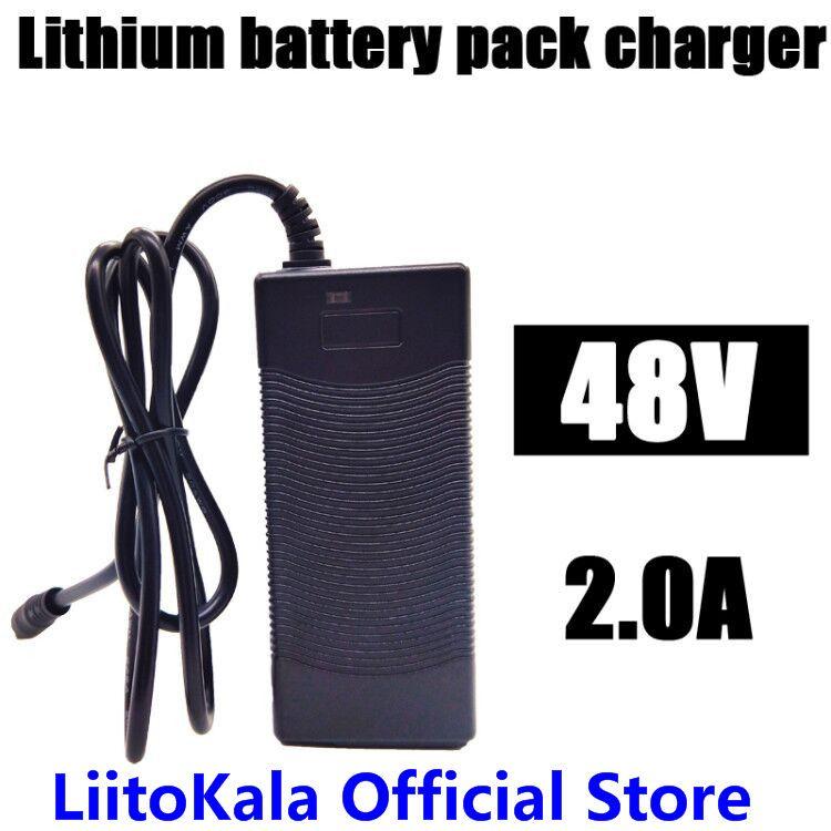 HK LiitoKala 48 v 2A chargeur 13 s 18650 batterie pack chargeur 54.6 v 2a courant constant constant pression est plein de auto-stop
