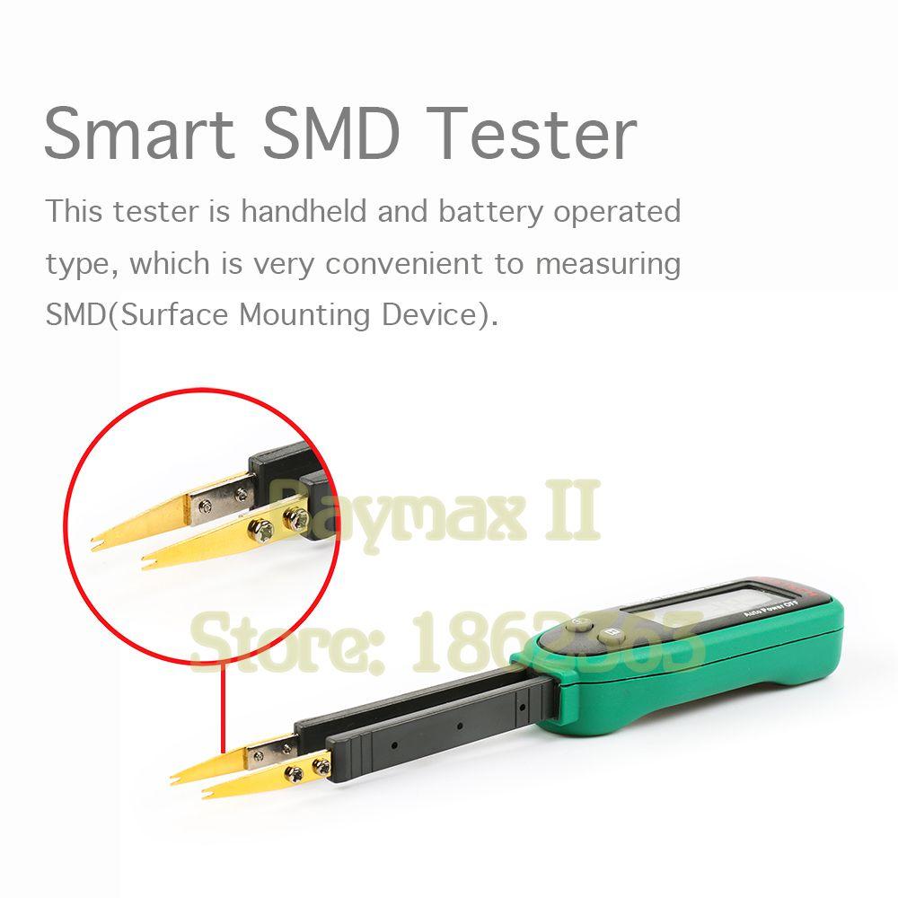 Mastech MS8910 Smart SMD RC Resistance Capacitance Diode Tester Multi Meter