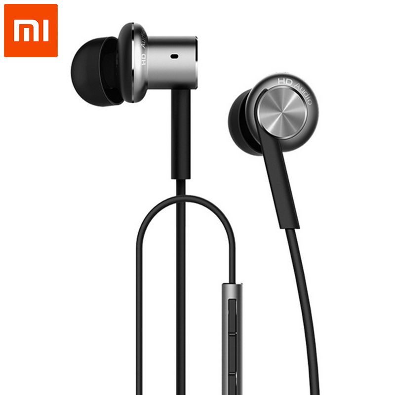 100% Original Xiaomi Hybrid/Pro HD Earphone In-Ear HiFi Earphones Mi Piston 4 With Mic Circle Iron Mixed For Redmi Pro Note3 MI5