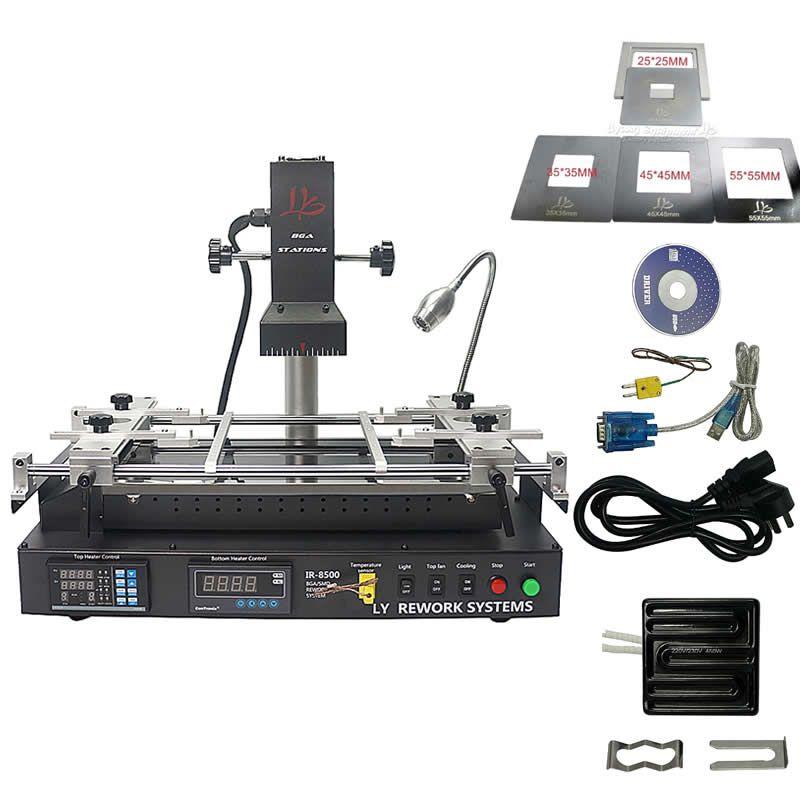 BGA löten rework station IR8500 schweißen reparatur maschine SMT SMD chip warten mit CE datei