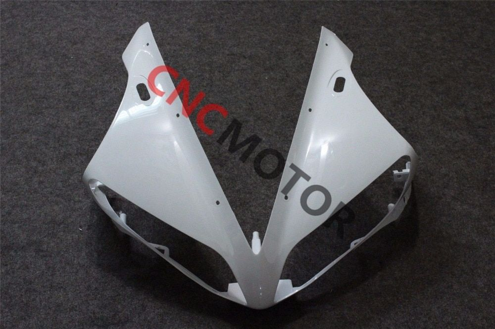 Unpainted Front Upper Fairing Cowl Nose Body Work Kit for YAMAHA YZF R1 2004-2006 04-05-06