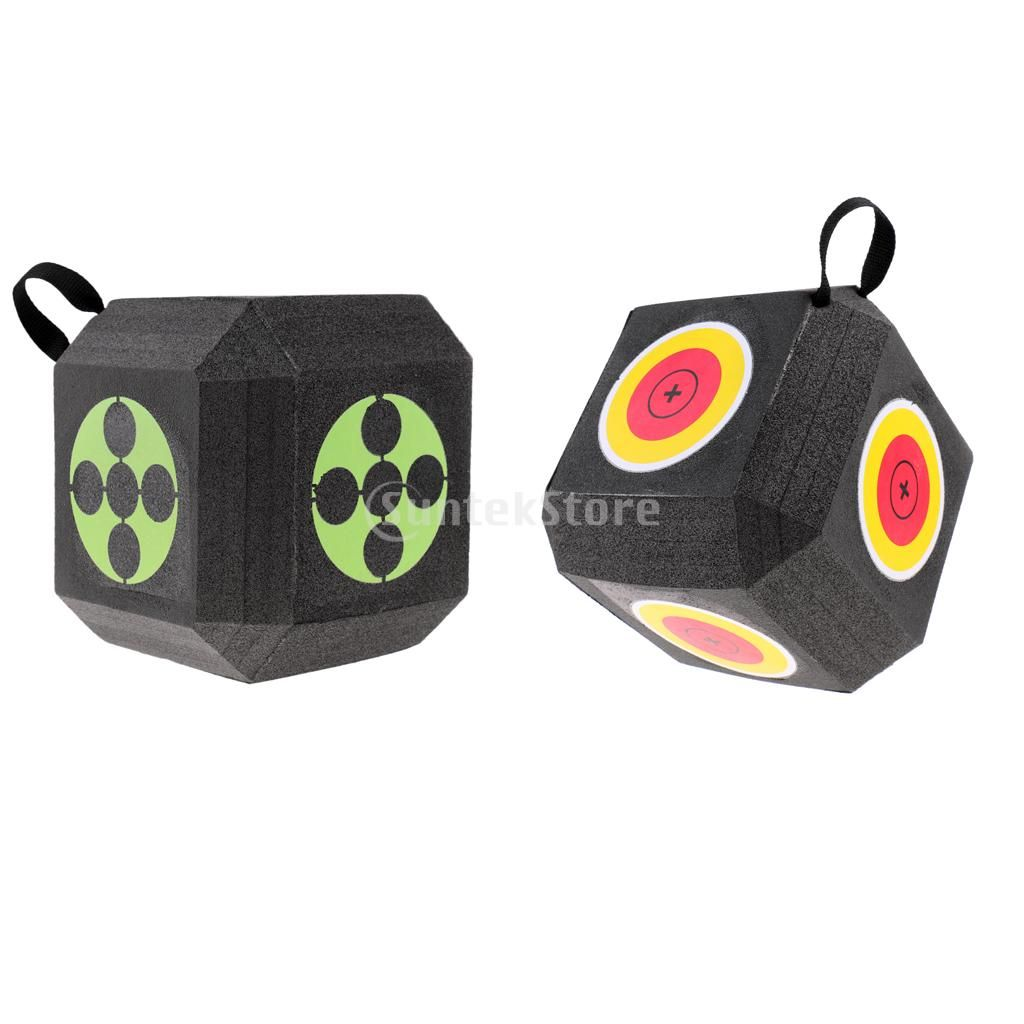 Archery 3D Block Target Cube Self Recovery XPE Foam Hunting Shooting Practice for all Arrow Types