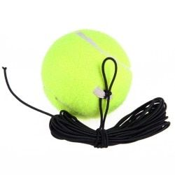 Drill Tennis Trainer Elasticity Rubber Woolen Trainer Tennis Ball With String For Single Package Practice Training