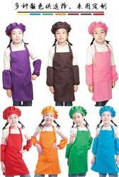 Enfants Enfants Plaine Tablier Cuisine Cuisson Peinture Cuisine Art Bib