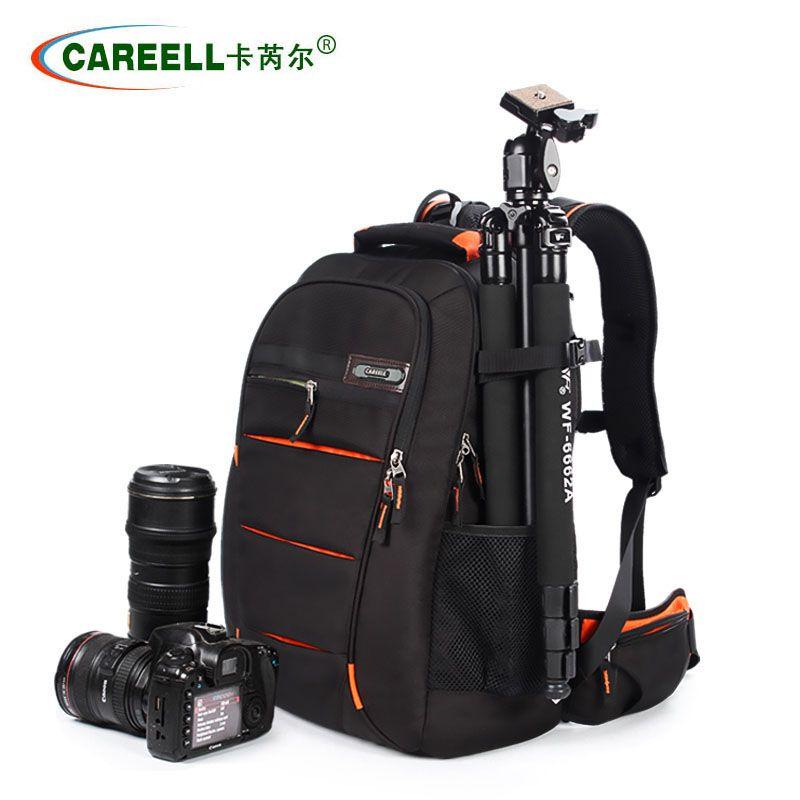 CAREELL C3050 sac hommes femmes sac à dos pour appareil photo numérique epaules grande capacité sac à dos pour Canon Nikon SLR sac pour appareil photo
