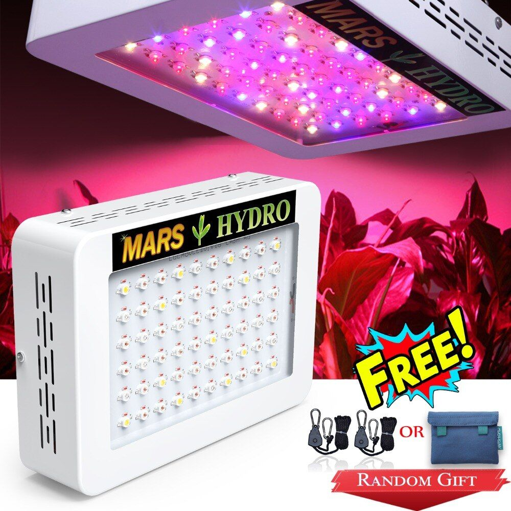 MarsHydro Led Grow Light 300W Full Spectrum for Indoor Plants Seeding Grow and Flower Hydroponics Medical Plants Greenhouse